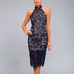 Lulu's Lace Cocktail Dress